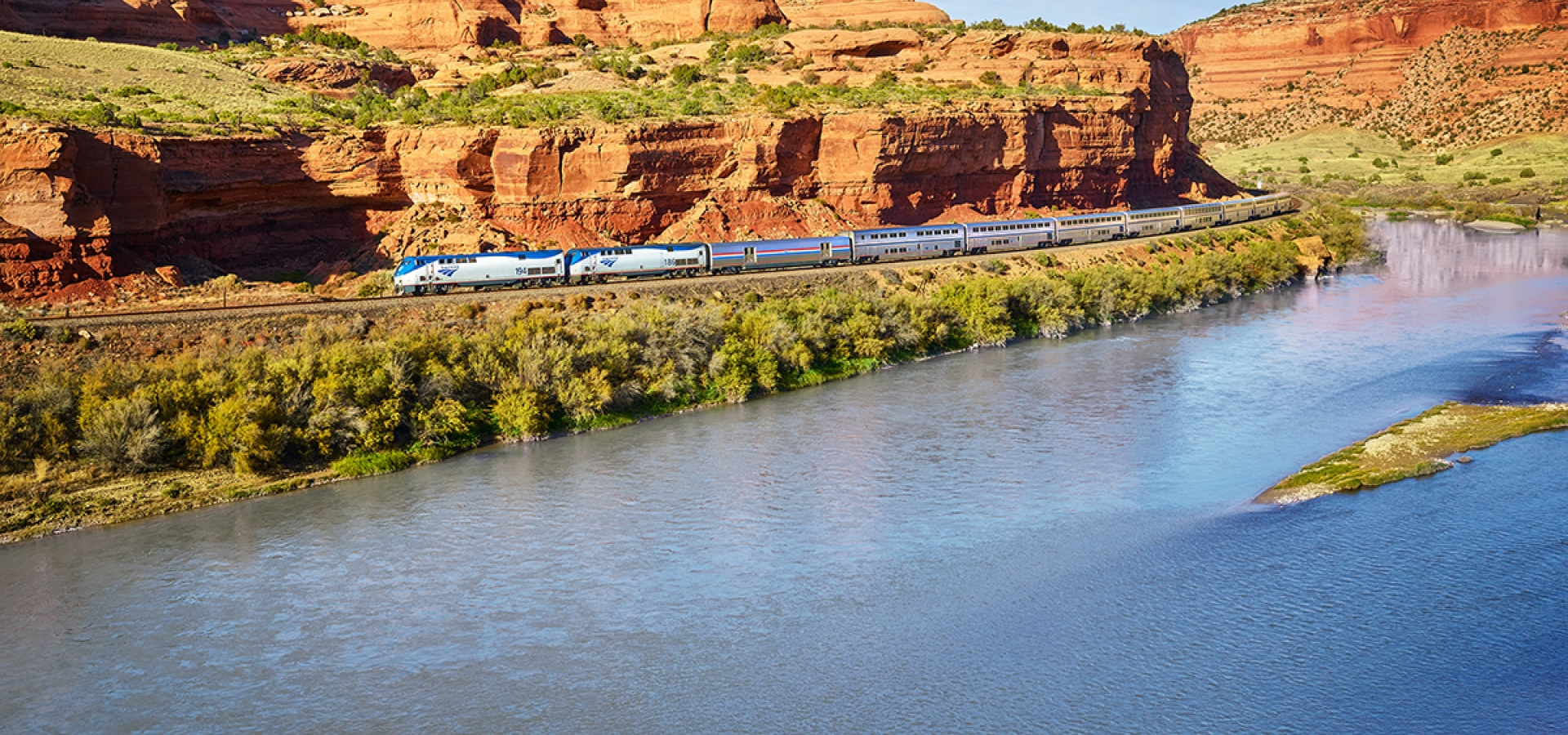 amtrak's famous california zephyr route