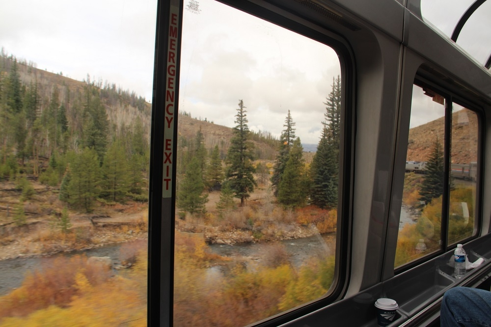 colorado scenery onboard the california zephyr